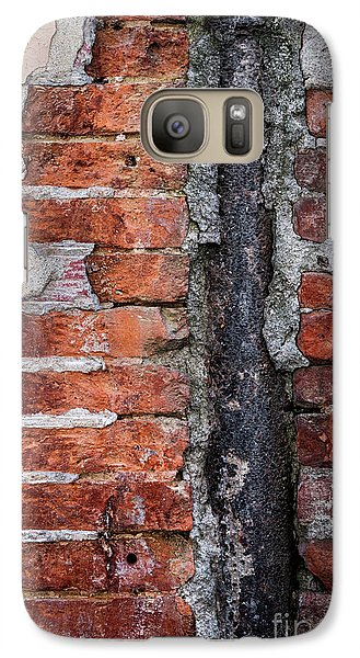 Galaxy Case featuring the photograph Old Brick Wall Fragment by Elena Elisseeva