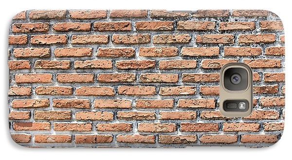 Galaxy Case featuring the photograph Old Brick Wall by Jingjits Photography