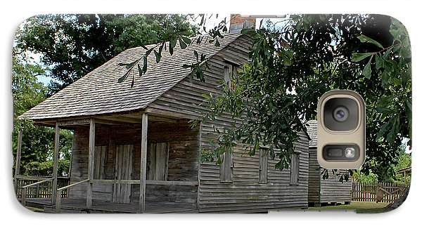 Galaxy Case featuring the photograph Old Cajun Home by Judy Vincent