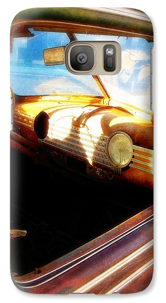 Galaxy Case featuring the photograph Old Chevrolet Dashboard by Glenn McCarthy Art and Photography
