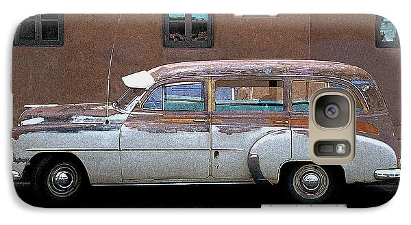 Galaxy Case featuring the photograph Old Chevy by Jim Mathis