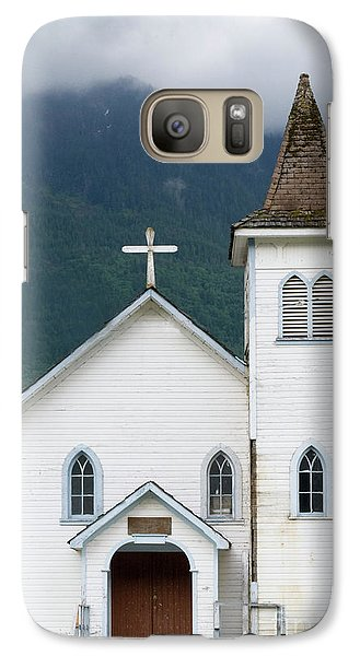 Galaxy Case featuring the photograph Old Church by Rod Wiens