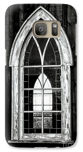 Galaxy Case featuring the photograph Old Church Window by Brad Allen Fine Art