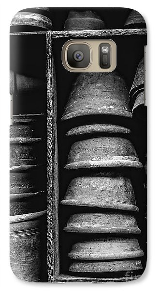 Galaxy Case featuring the photograph Old Clay Pots by Edward Fielding