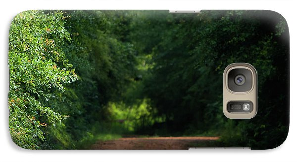 Galaxy Case featuring the photograph Old Dirt Road by Shelby Young