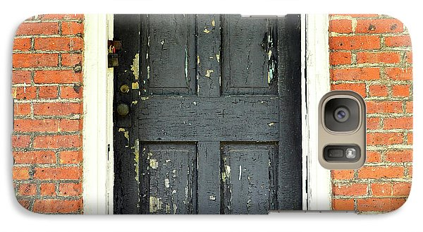 Galaxy Case featuring the photograph Old Door by Zawhaus Photography