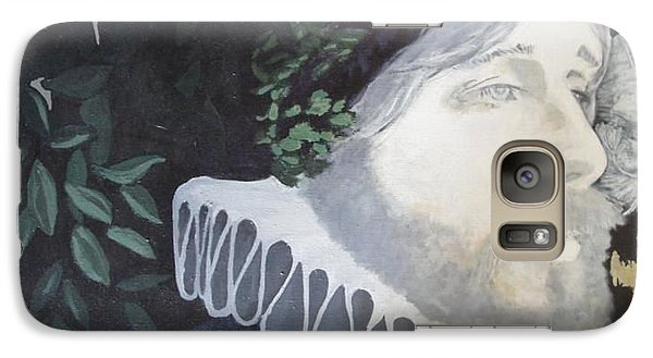 Galaxy Case featuring the painting Old Englishman by Bernard Goodman