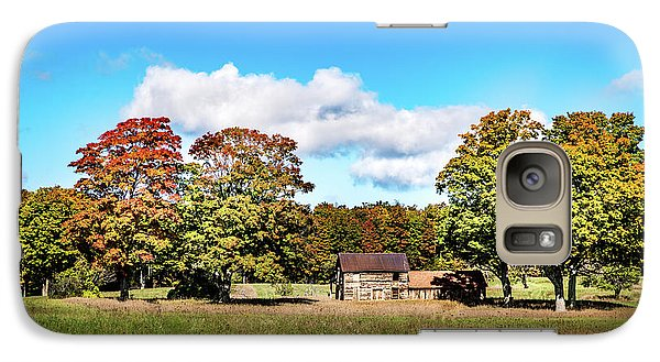 Galaxy Case featuring the photograph Old Farm House by Onyonet  Photo Studios