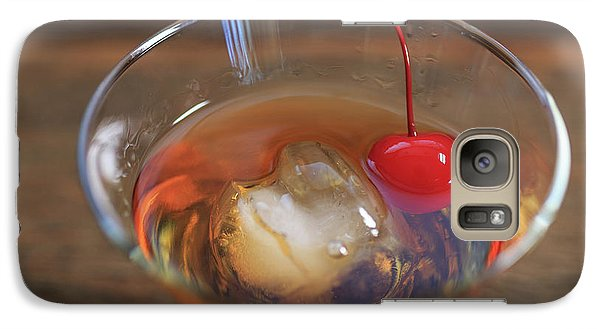 Galaxy Case featuring the photograph Old Fashioned Cocktail by Edward Fielding