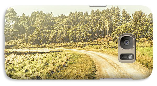 Old-fashioned Country Lane Galaxy S7 Case