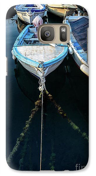 Old Fishing Boats Of The Adriatic Galaxy S7 Case