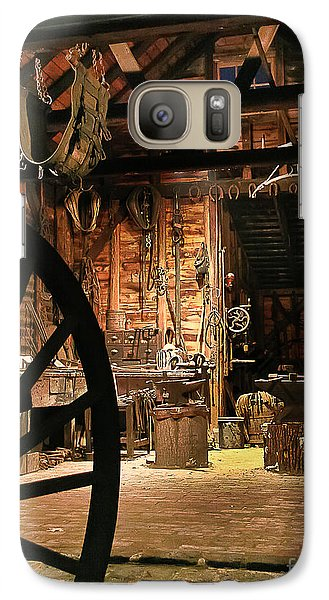 Galaxy Case featuring the photograph Old Forge by Tom Cameron