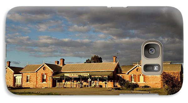 Galaxy Case featuring the photograph Old Ghan Railway Restaurant by Douglas Barnard