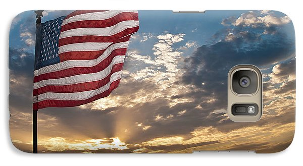 Galaxy Case featuring the photograph Old Glory by John Collins