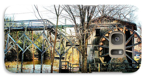 Galaxy Case featuring the photograph Old Gristmill by Rick Friedle