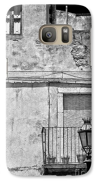 Old House In Taormina Sicily Galaxy S7 Case
