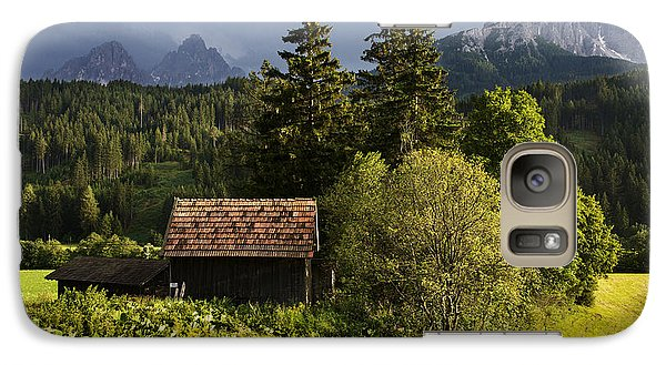 Galaxy Case featuring the photograph Old Hut In Austria by Yuri Santin