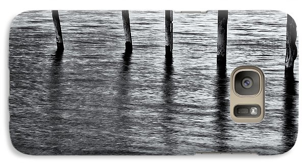 Galaxy Case featuring the photograph Old Jetty - S by Werner Padarin