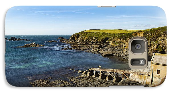 Galaxy Case featuring the photograph Old Life Boat Station by Brian Roscorla