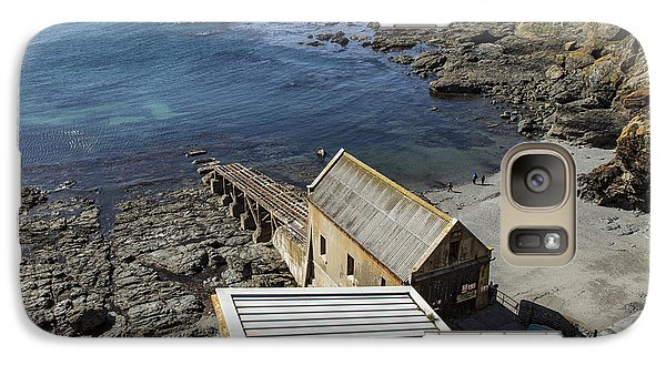Galaxy Case featuring the photograph Old Lifeboat Station by Brian Roscorla