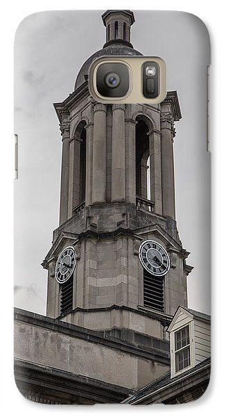 Old Main Penn State Clock  Galaxy Case by John McGraw