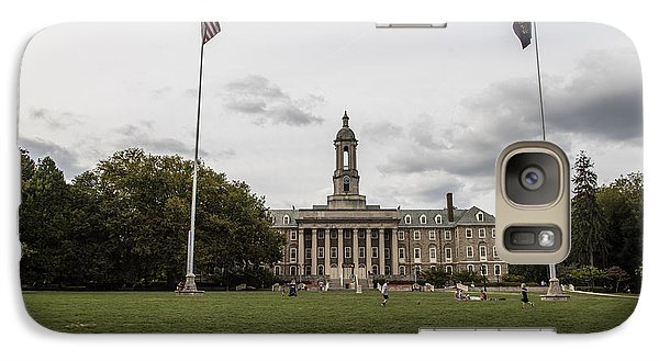 Old Main Penn State Wide Shot  Galaxy Case by John McGraw