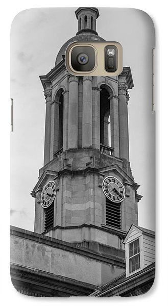 Old Main Tower Penn State Galaxy Case by John McGraw