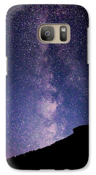 Old Man Milky Way Memorial Galaxy S7 Case