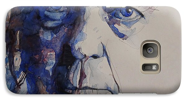 Old Man - Neil Young  Galaxy S7 Case by Paul Lovering