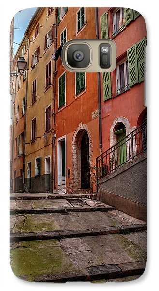 Galaxy Case featuring the photograph Old Nice - Vieille Ville 002 by Lance Vaughn