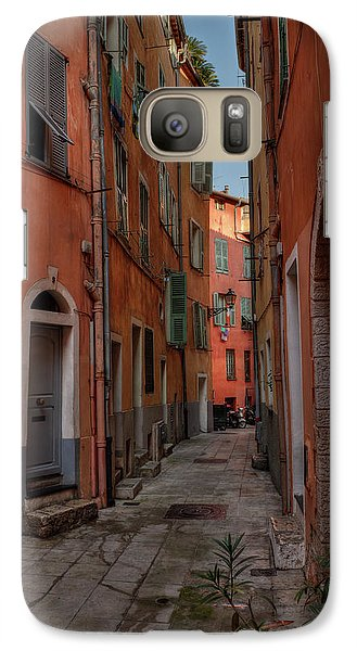 Galaxy Case featuring the photograph Old Nice - Vieille Ville 003 by Lance Vaughn