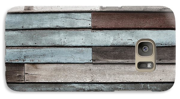 Galaxy Case featuring the photograph Old Pale Wood Wall by Jingjits Photography