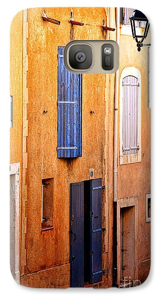 Galaxy Case featuring the photograph Old Provence Village Street by Olivier Le Queinec
