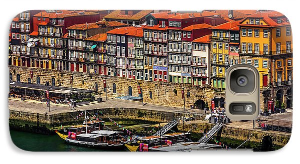 Galaxy Case featuring the photograph Old Ribeira Porto  by Carol Japp