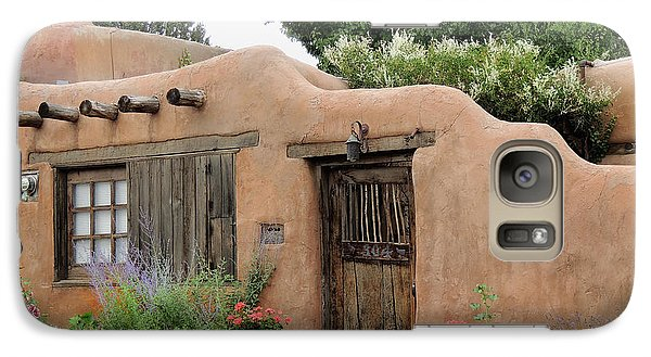 Galaxy Case featuring the photograph Old Santa Fe Cottage by Gordon Beck