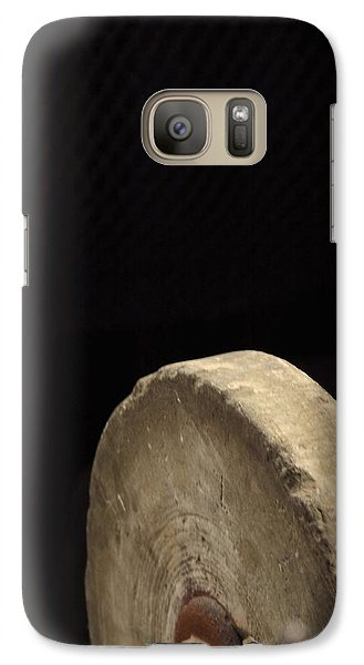 Galaxy Case featuring the photograph Old Sharpening Stone by Viktor Savchenko