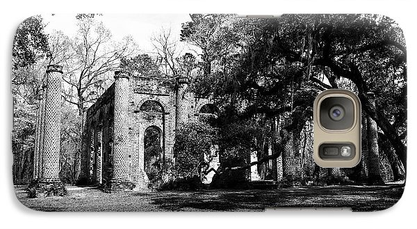 Galaxy Case featuring the photograph Old Sheldon Church  by Gary Wightman