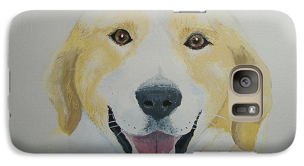 Galaxy Case featuring the painting Old Shep by Norm Starks
