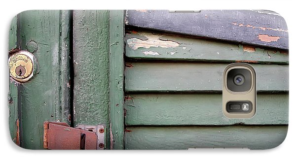 Galaxy Case featuring the photograph Old Shutters French Quarter by KG Thienemann