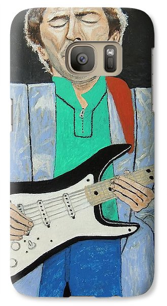 Galaxy Case featuring the painting Old Slowhand. by Ken Zabel