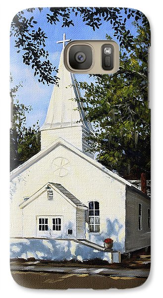 Galaxy Case featuring the painting Old St. Andrew Church by Rick McKinney