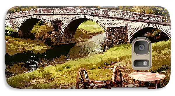 Old Stone Bridge In France Galaxy S7 Case