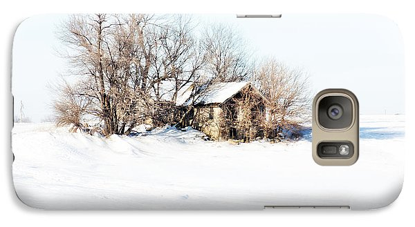 Galaxy Case featuring the photograph Old  Stone House Milford by Julie Hamilton