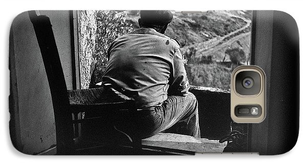 Galaxy Case featuring the photograph Old Thinking by Bruno Spagnolo