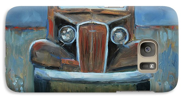 Galaxy Case featuring the painting Old Timer by Billie Colson