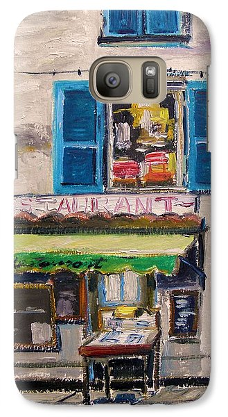 Galaxy Case featuring the painting Old Town Cafe by John Williams