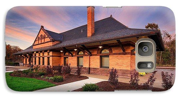 Beaver Galaxy S7 Case - Old Train Station by Emmanuel Panagiotakis