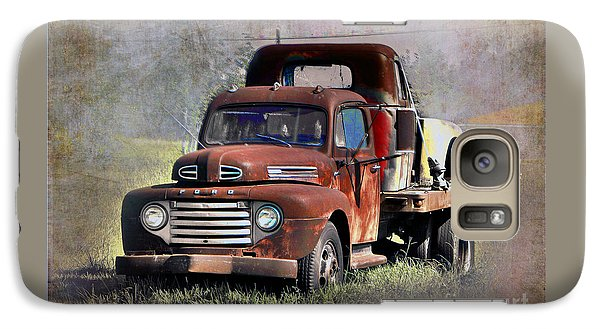 Galaxy Case featuring the photograph Old Trucks by Savannah Gibbs
