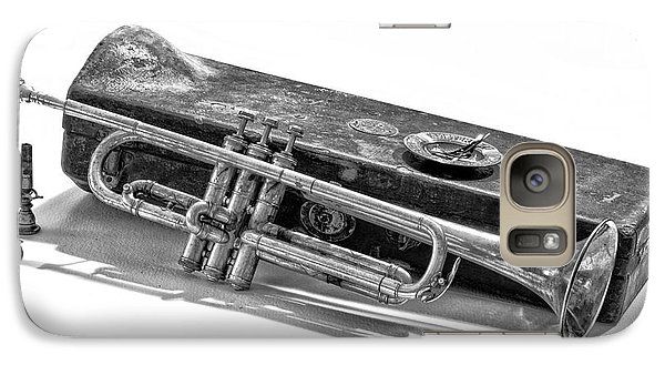 Galaxy Case featuring the photograph Old Trumpet by Walt Foegelle