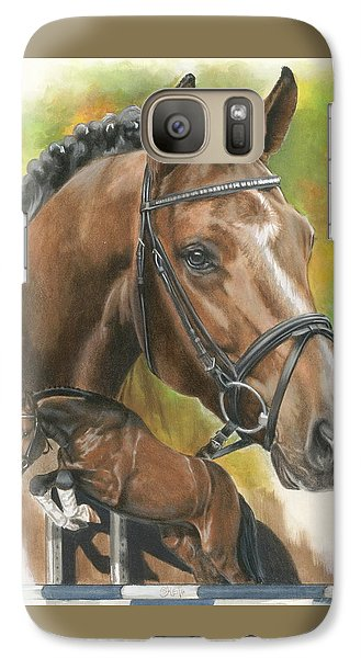Galaxy Case featuring the painting Oldenberg by Barbara Keith